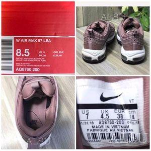 NWT Nike Air Max 97 LEA Smokey Mauve W AUTHENTIC NWT